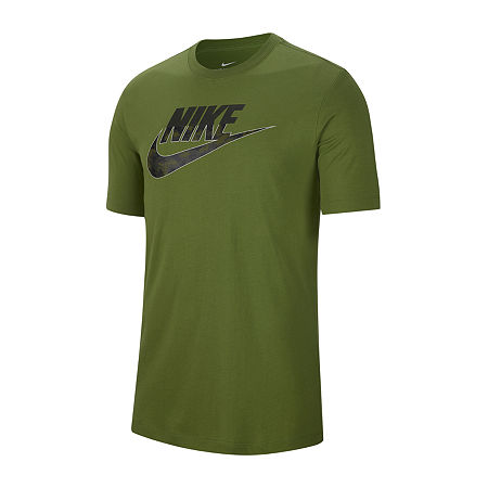 Nike-Big and Tall Mens Crew Neck Short Sleeve T-Shirt, X-large Tall , Green