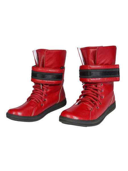 Milanoo Final Fantasy Cosplay Tifa Lockhart PU Footwear Cosplay Costume