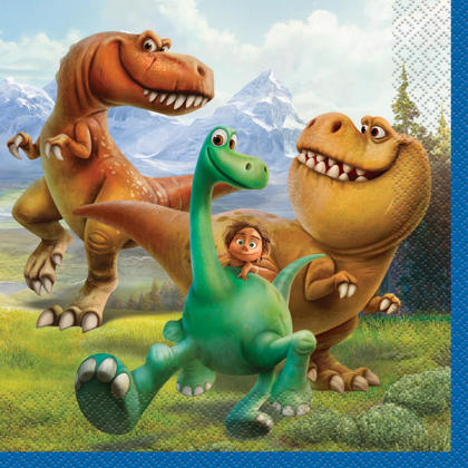 Disney The Good Dinosaur Luncheon Napkins, 16ct Pour la fête d'anniversaire