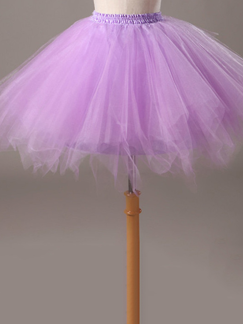 Ericdress Tulle Multicolor Gauze Skirt