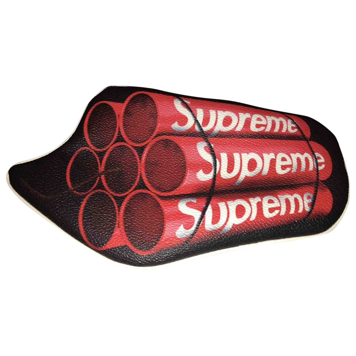 Supreme X Undercover \N Red Leather Small bag, wallet & cases for Men \N