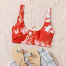 Bikini Top mit Batik