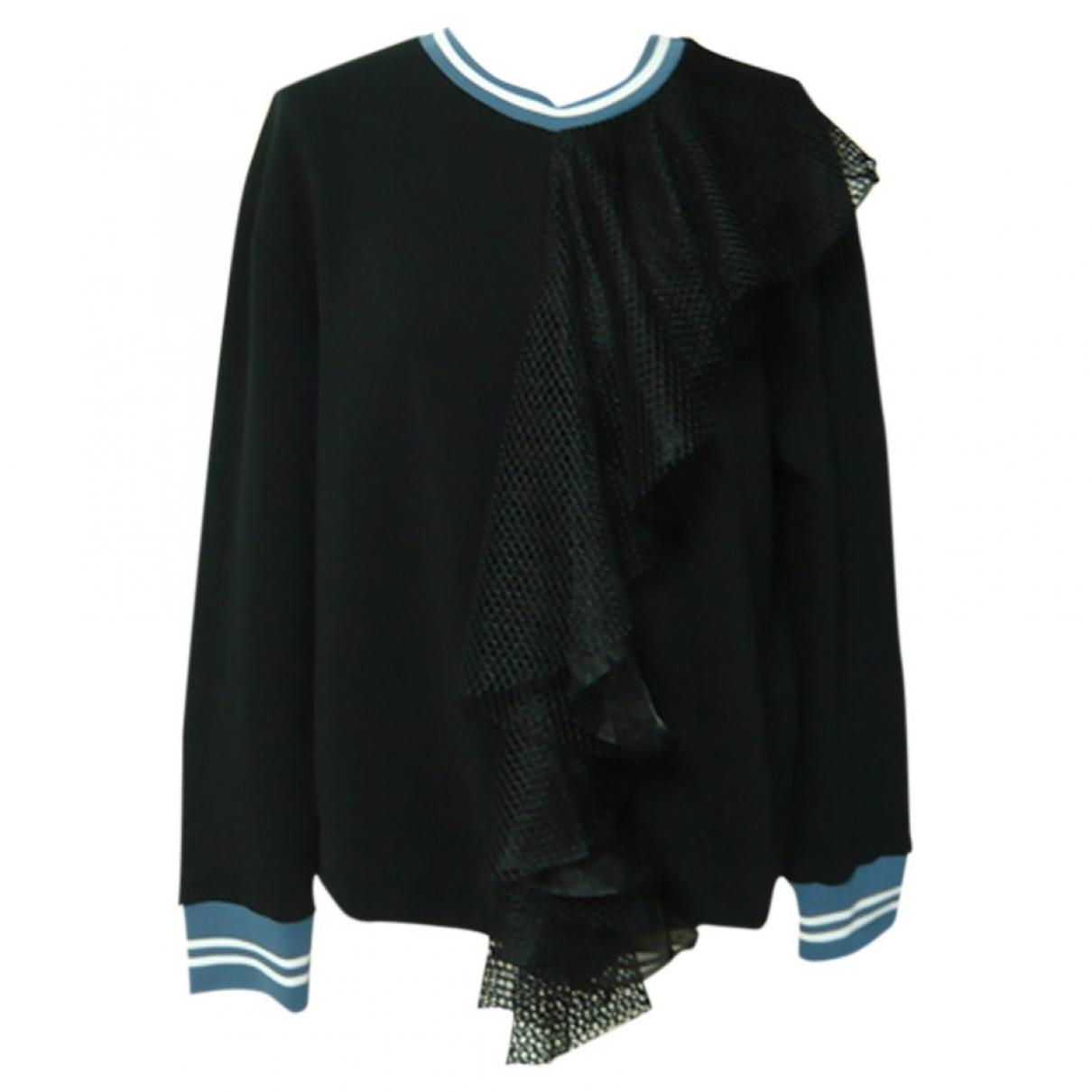 Sport Max \N Pullover in  Schwarz Baumwolle