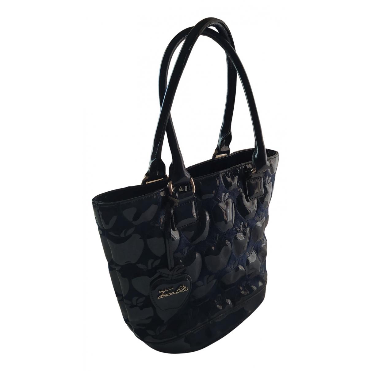 Tosca Blu \N Handtasche in  Marine Synthetik