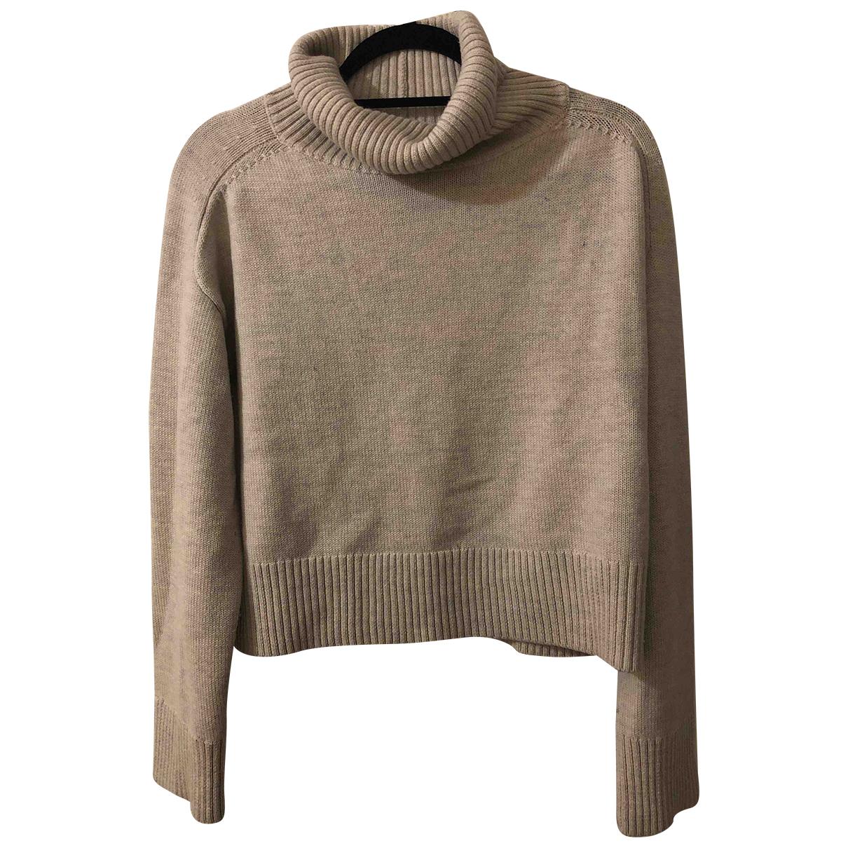 Babaton - Pull   pour femme en laine - gris