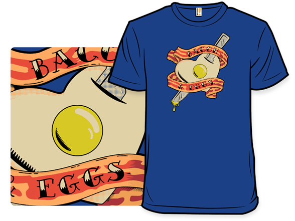 Bacon And Eggs T Shirt