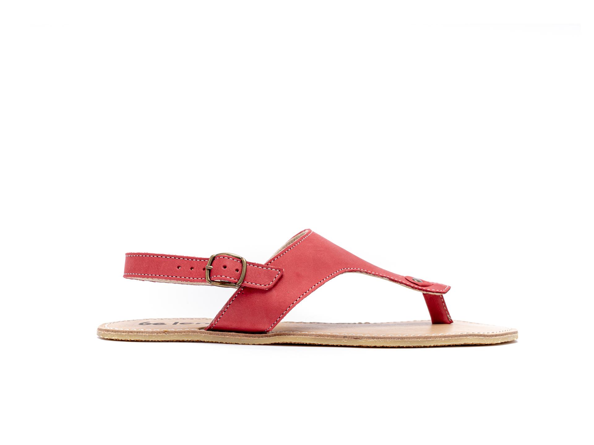 Barefoot Sandals - Be Lenka Promenade - Red 40