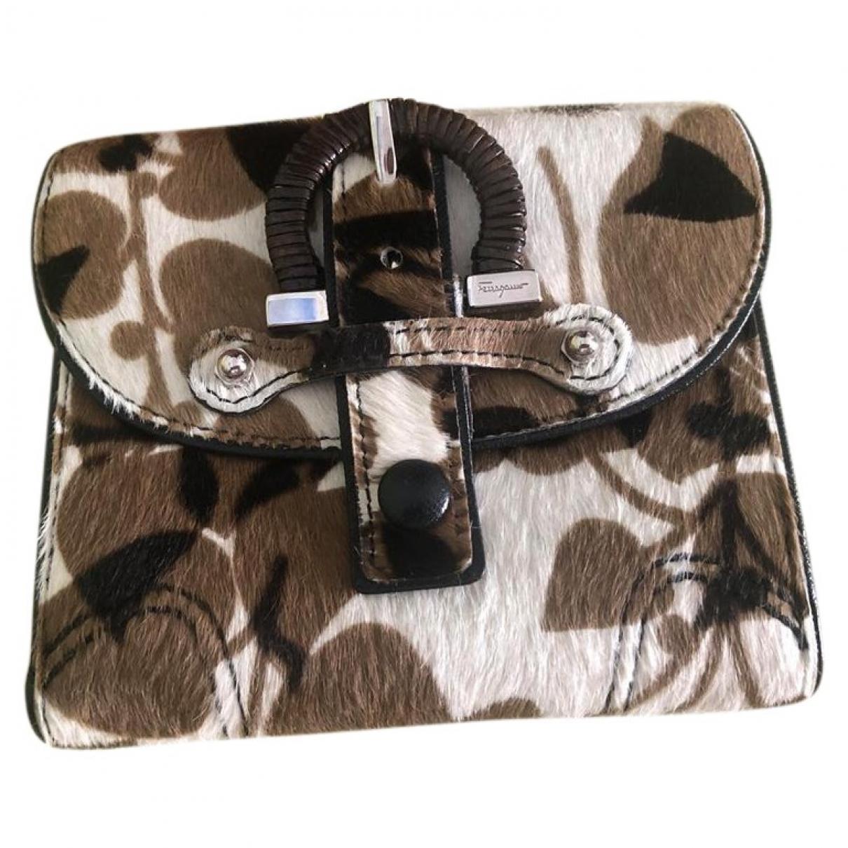 Salvatore Ferragamo \N Multicolour Cloth wallet for Women \N