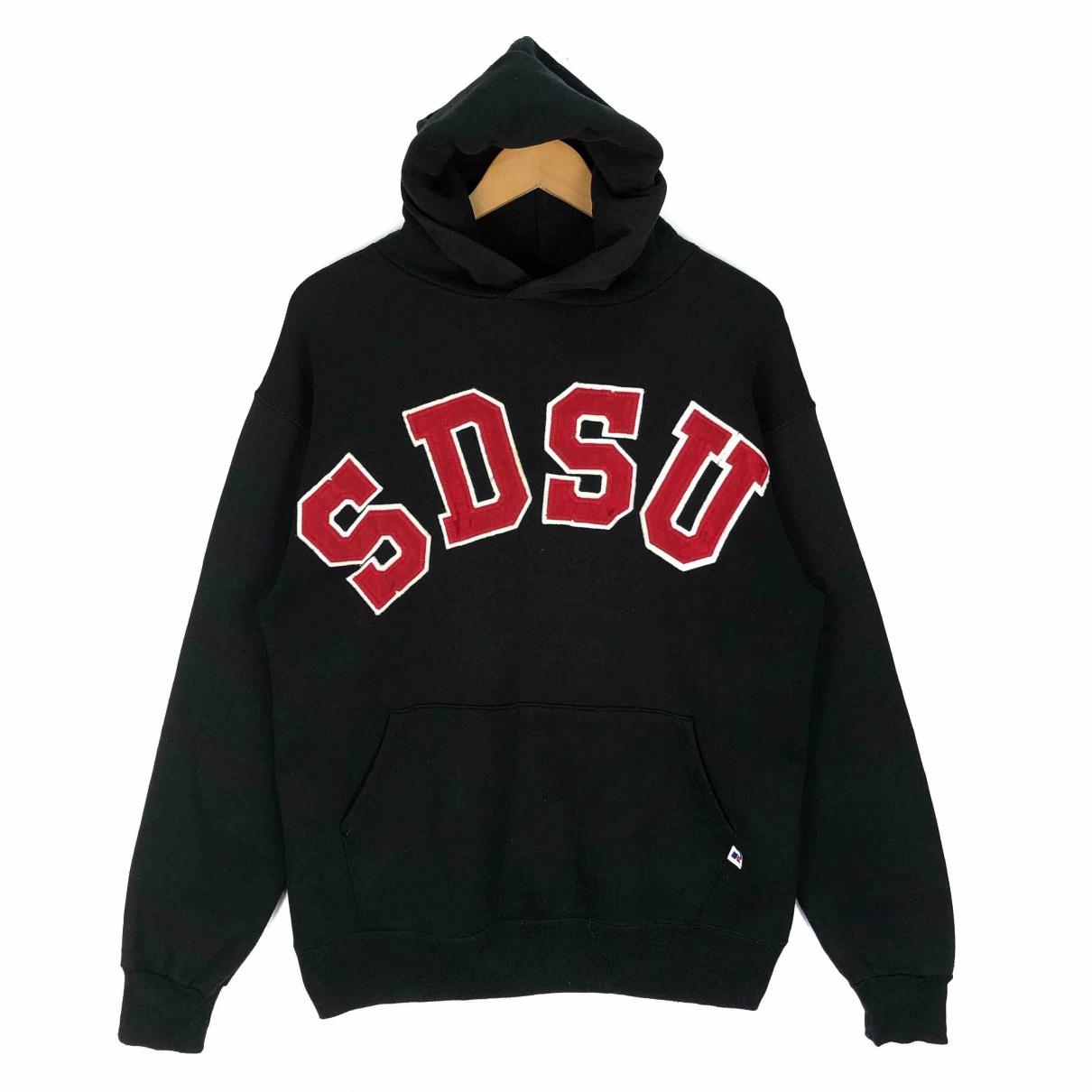 Non Signé / Unsigned \N Black Cotton Knitwear & Sweatshirts for Men L International