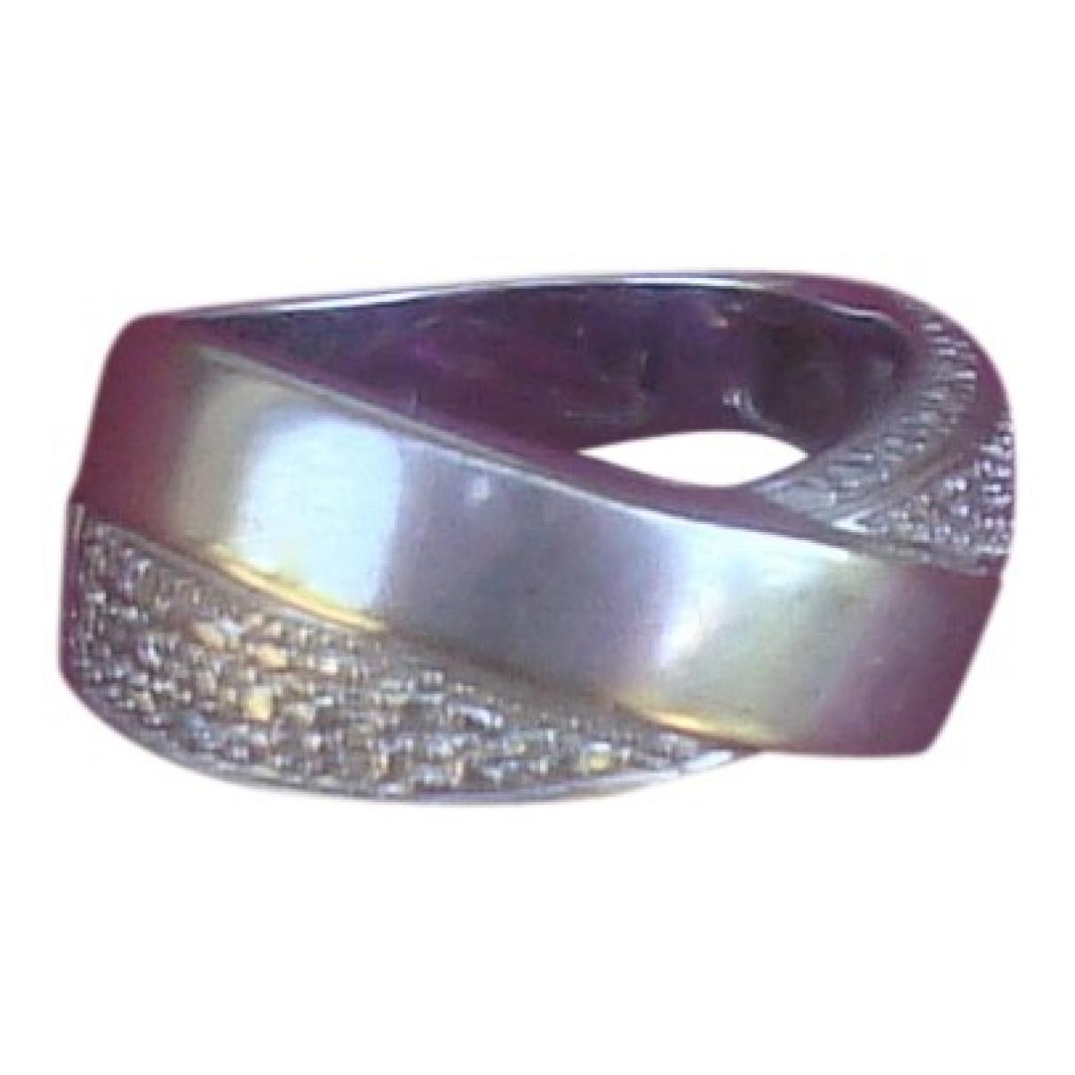 Pierre Balmain \N Ring in  Grau Weissgold