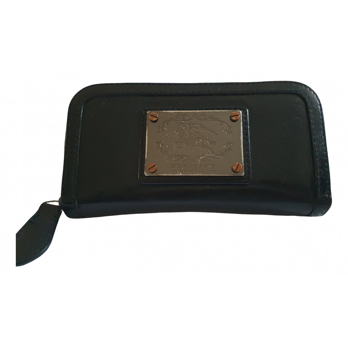 Burberry N Black Leather Purses, wallet & cases for Women N