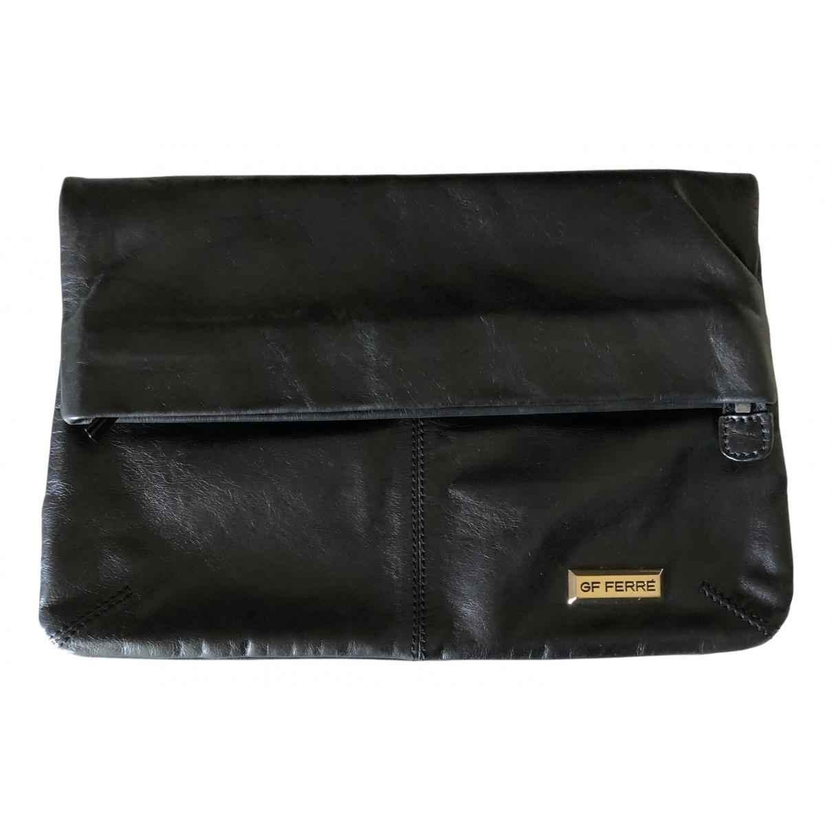 Gianfranco Ferré N Black Leather Clutch bag for Women N