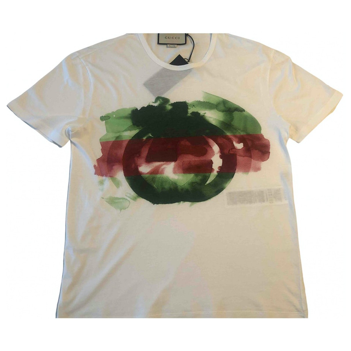 Gucci N White Cotton T-shirts for Men S International