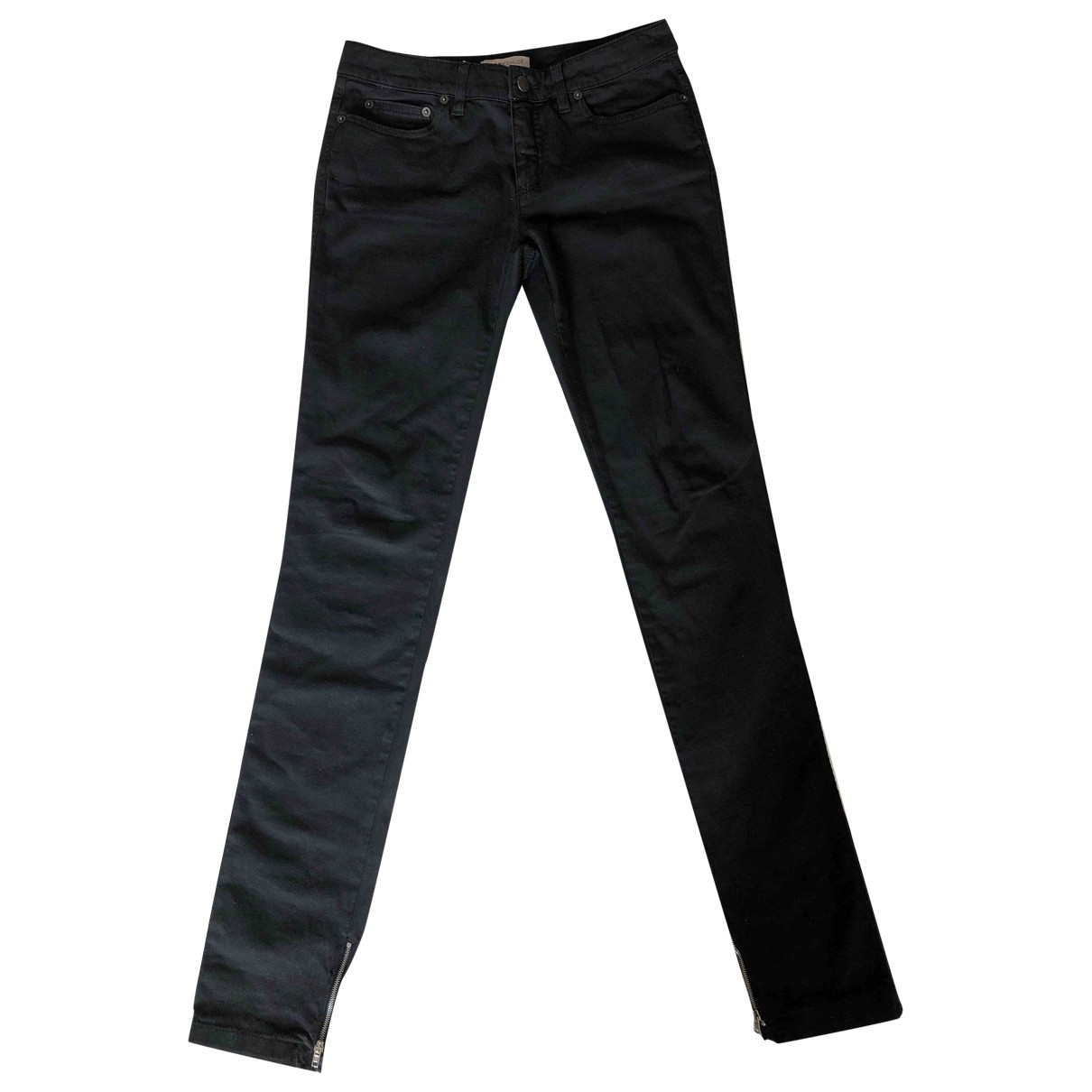 See By Chloé \N Black Cotton - elasthane Jeans for Women 28 US