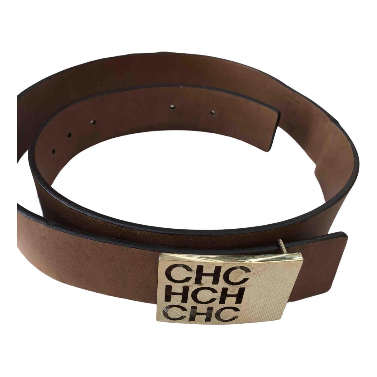 Cinturon de Cuero Carolina Herrera
