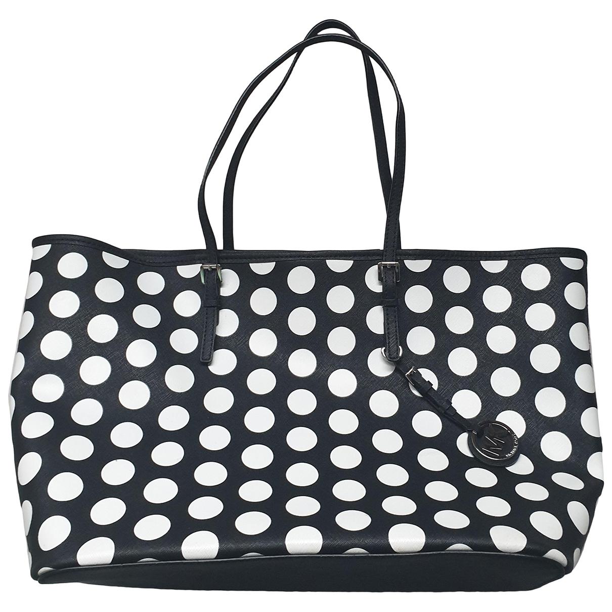 Michael Kors Jet Set Black Patent leather handbag for Women \N