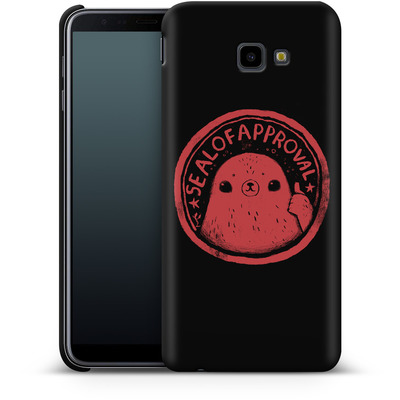 Samsung Galaxy J4 Plus Smartphone Huelle - Seal of Approval von Louis Ros