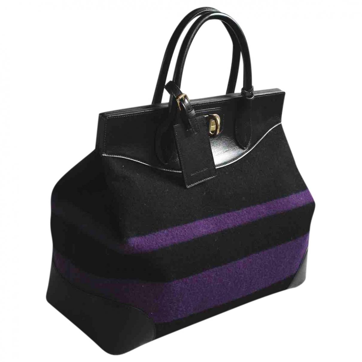 Ralph Lauren Collection - Sac a main Classique  pour femme en laine - violet