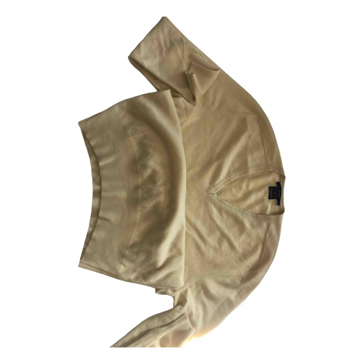 Gucci \N Pullover.Westen.Sweatshirts  in  Gelb Kaschmir
