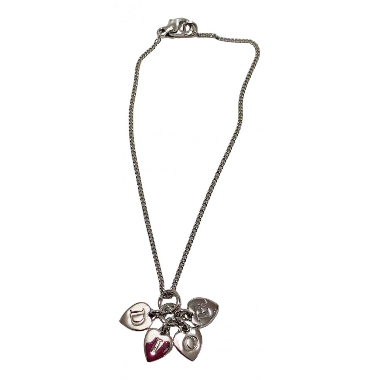 Dior - Bracelet Monogramme pour femme en metal - argente