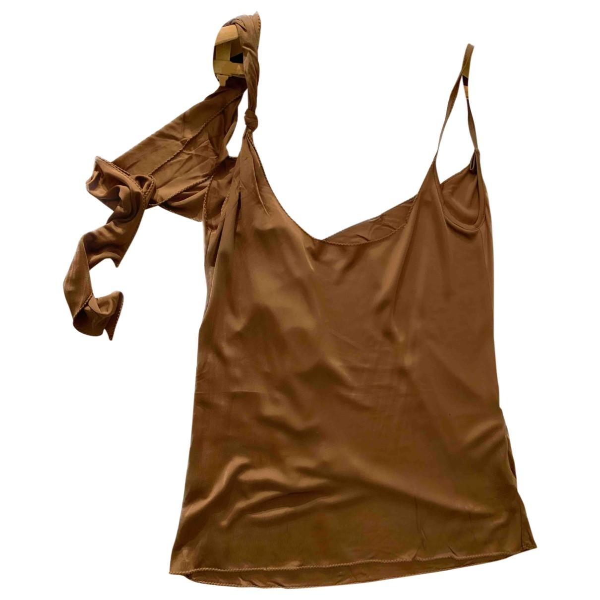 Patrizia Pepe \N Camel  top for Women One Size International