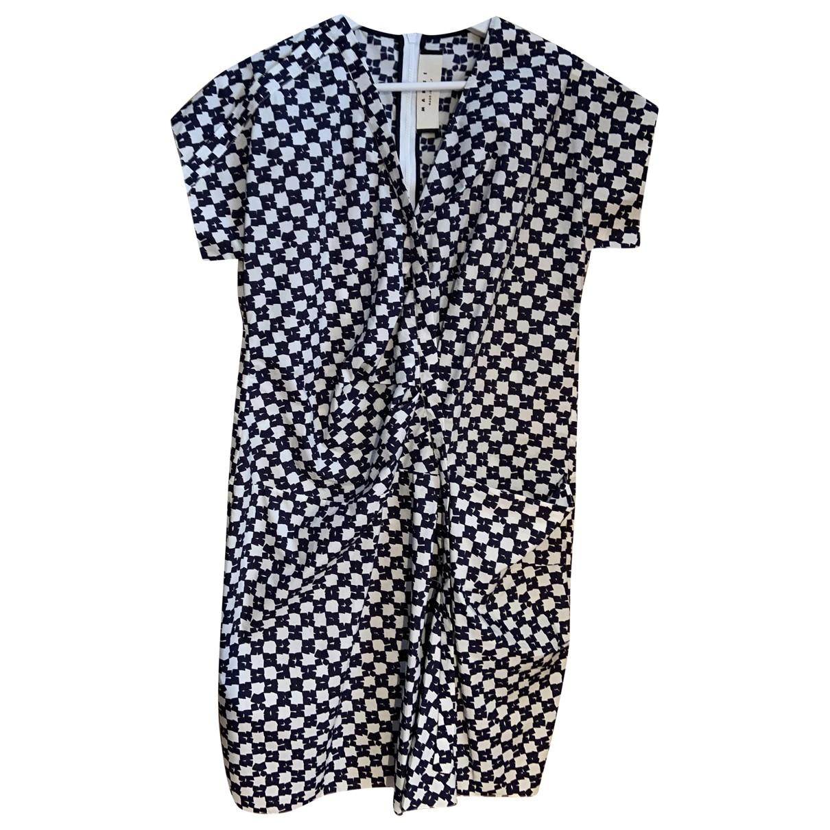 Marni \N Kleid in  Bunt Baumwolle