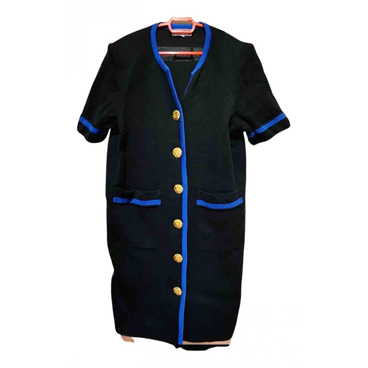 Yves Saint Laurent - Robe   pour femme en coton - bleu