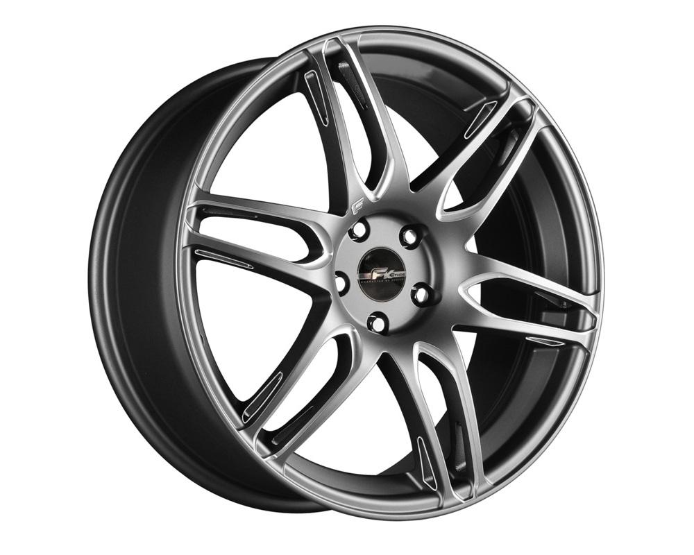 FK Ethos RT61861002 RT-6 Gunmetal Ball Cut Machined Wheel 18x8 5x114.3 40
