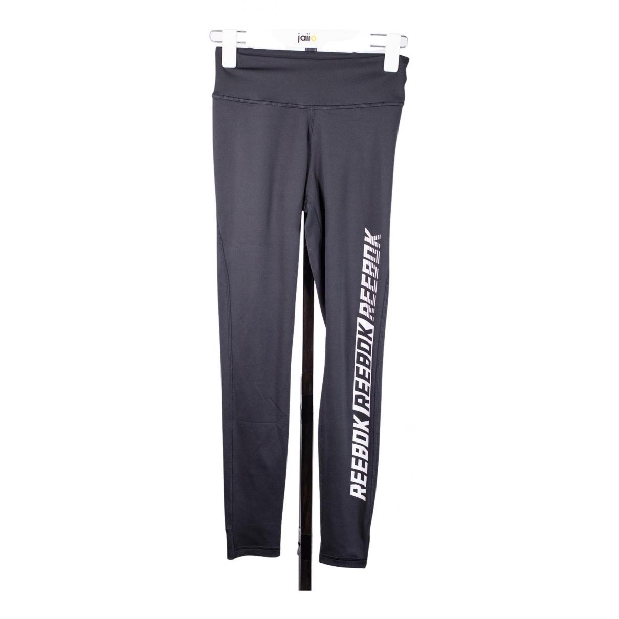 Reebok N Black Spandex Trousers for Women 34 FR