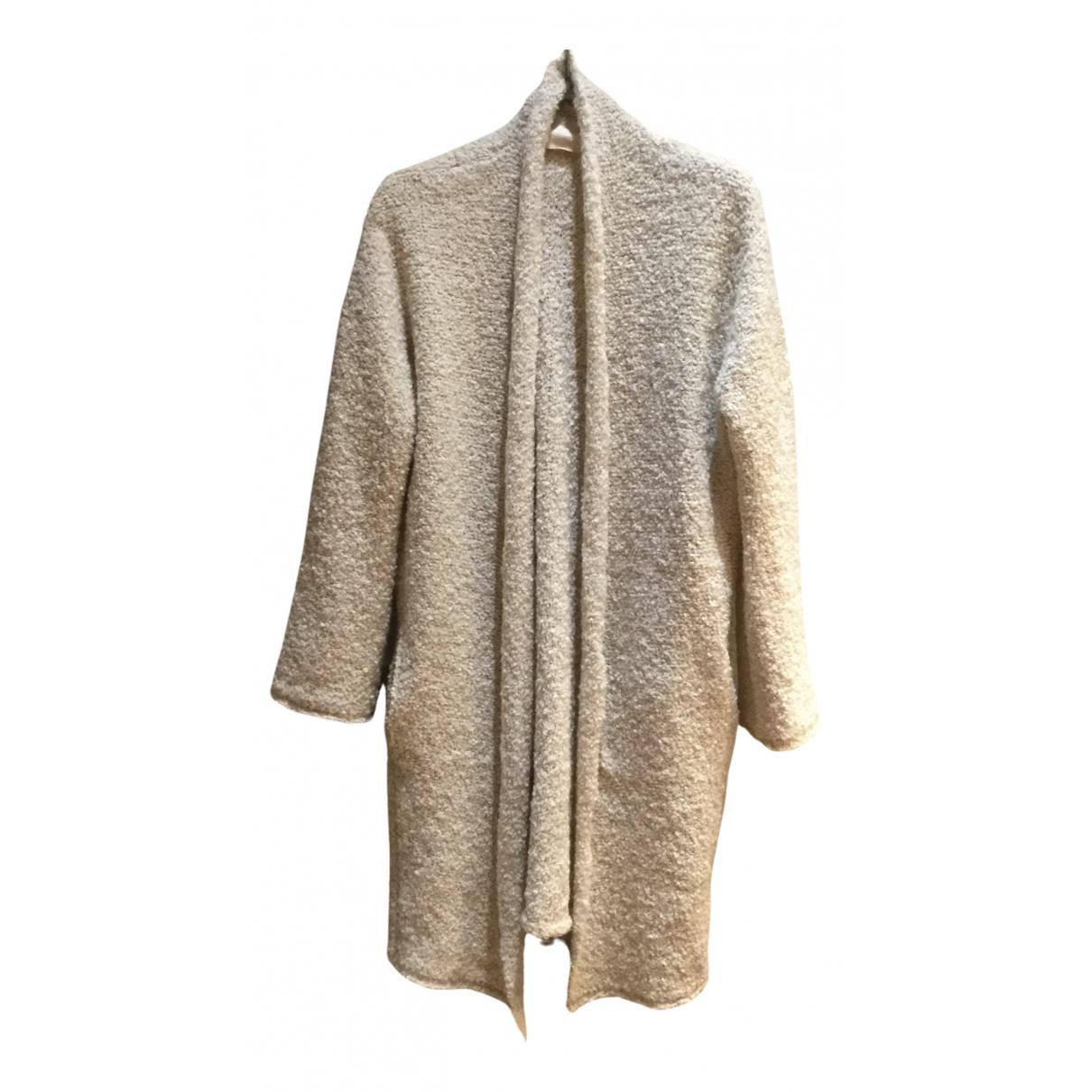 Zadig & Voltaire N Beige Wool coat for Women M International