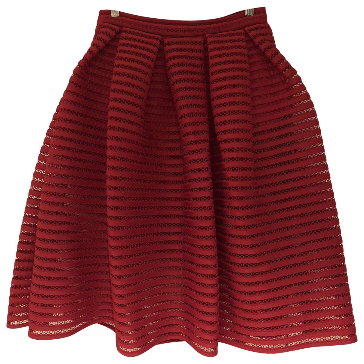 Maje \N Red skirt for Women 2 0-5