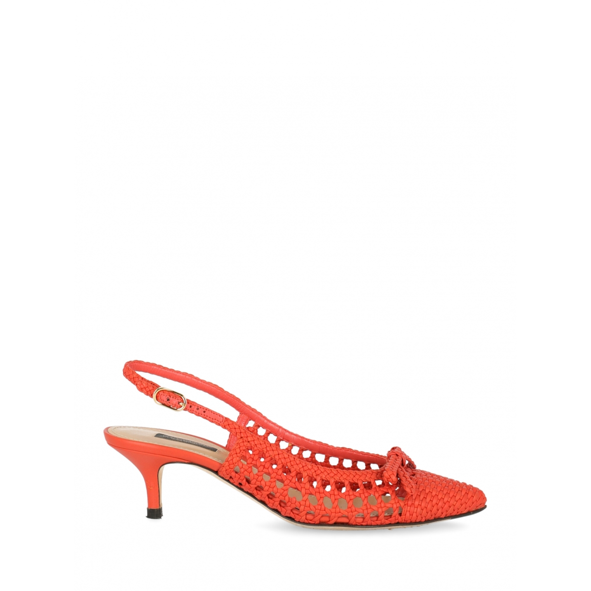Dolce & Gabbana \N Pumps in  Orange Leder