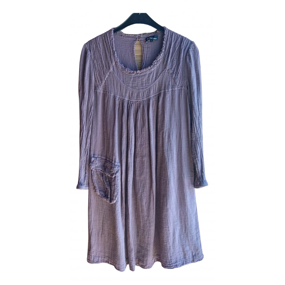 Isabel Marant Etoile - Robe   pour femme en coton - violet