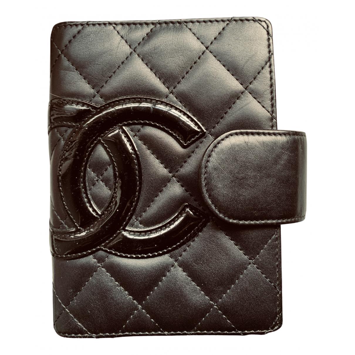 Chanel - Objets & Deco Cambon pour lifestyle en cuir - noir