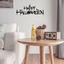 Wandaufkleber mit Halloween Muster