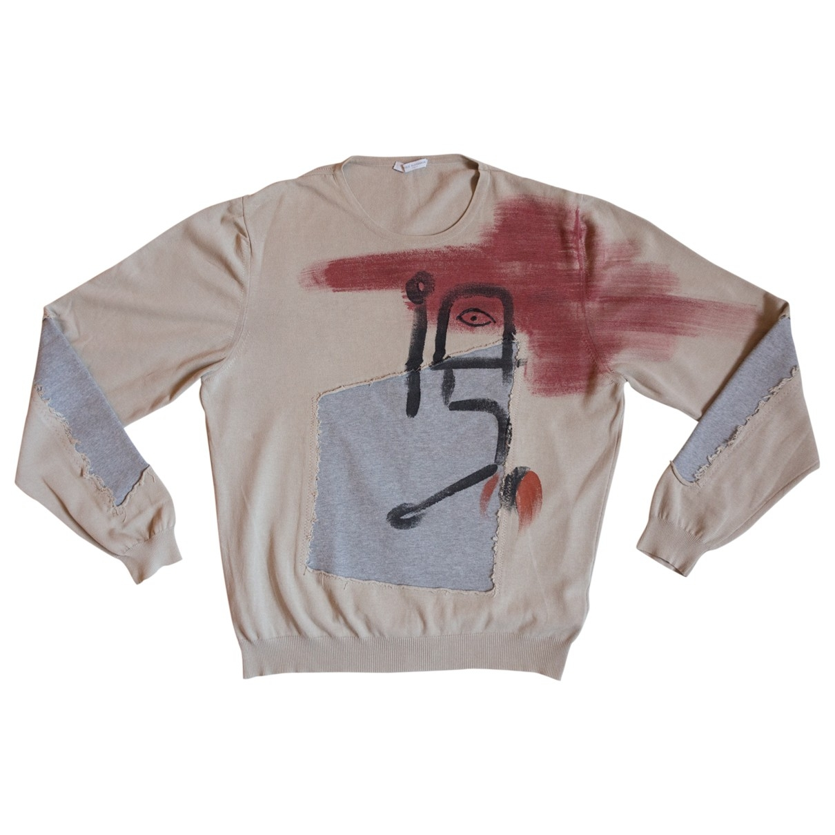 Daniele Alessandrini \N Pullover.Westen.Sweatshirts  in  Beige Baumwolle