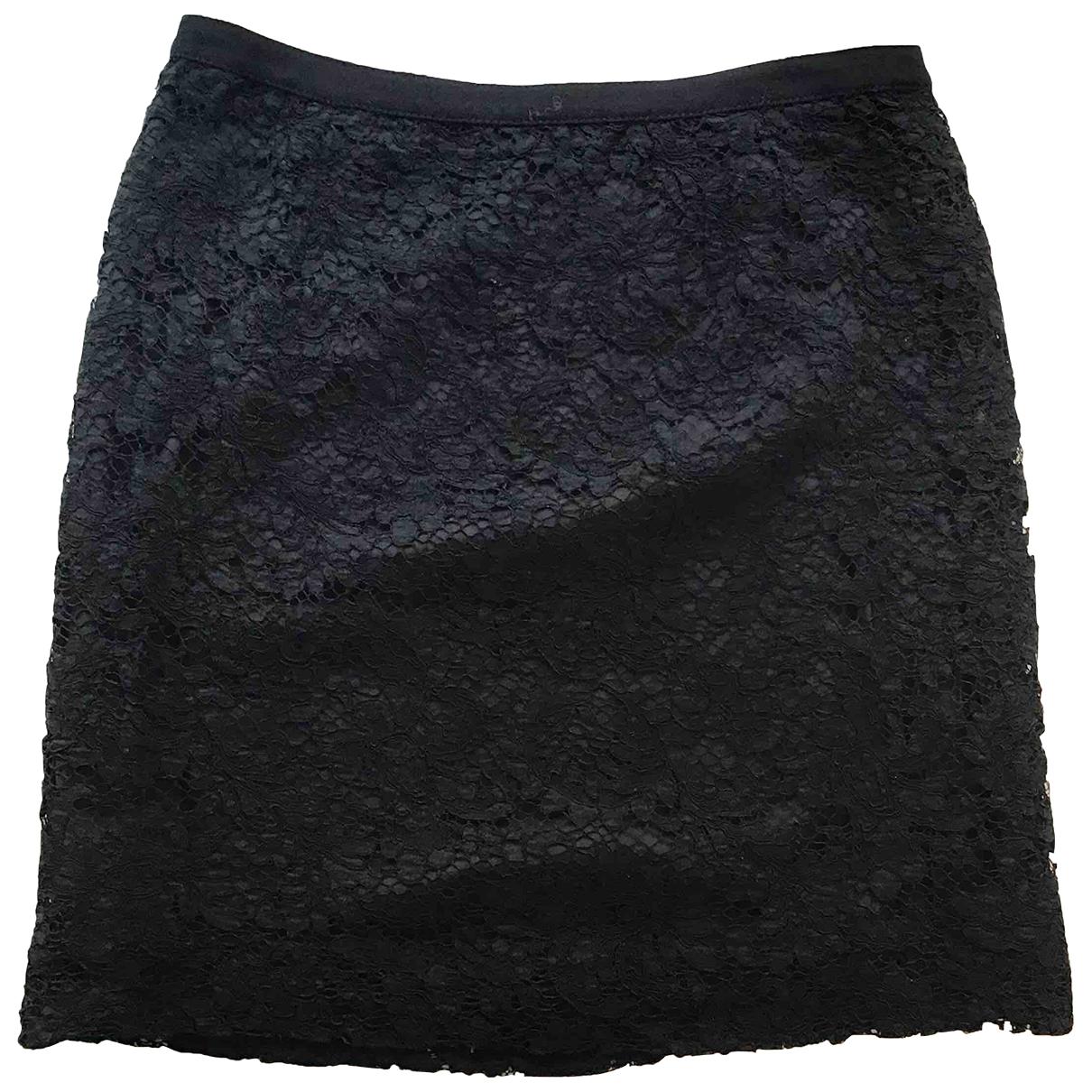 Leonard - Jupe   pour femme en coton - noir