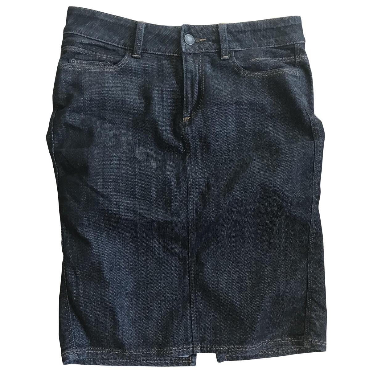 Comptoir Des Cotonniers - Jupe   pour femme en denim - bleu