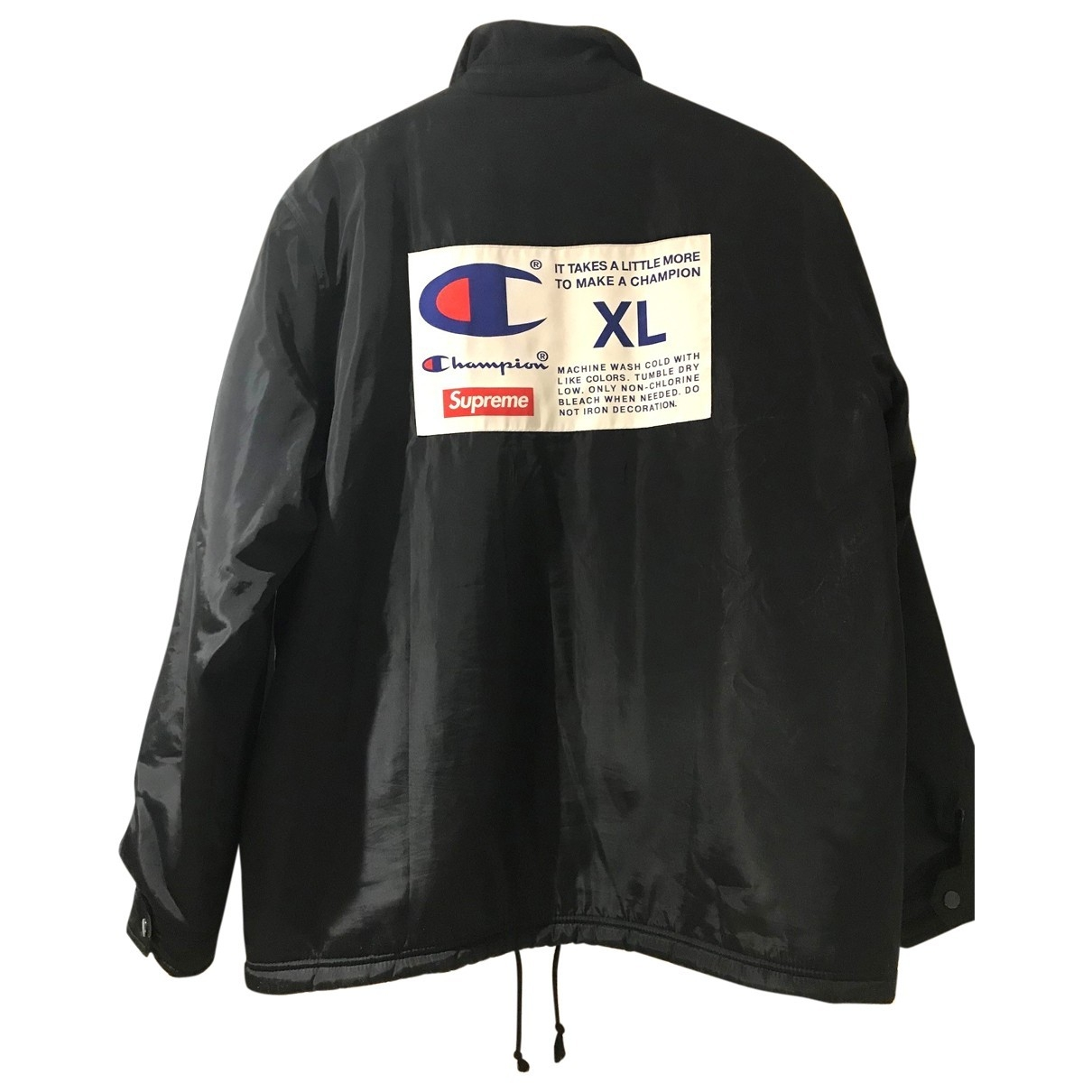 Supreme X Champion \N Black jacket  for Men XL International