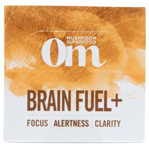 Brain Fuel Drink Stick Mocha 10 ct  2.6 Oz by Organic Mushroom Nutrition