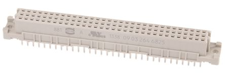 HARTING 64 Way 2.54mm Pitch, Type C Class C2, 2 Row, Straight DIN 41612 Connector, Socket