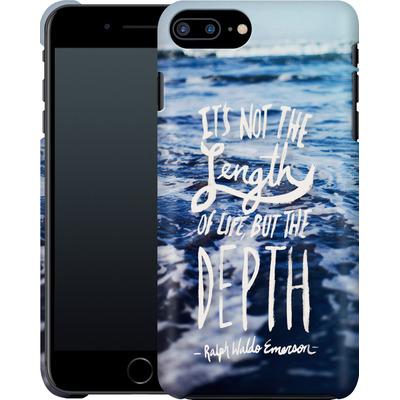 Apple iPhone 7 Plus Smartphone Huelle - Depth von Leah Flores