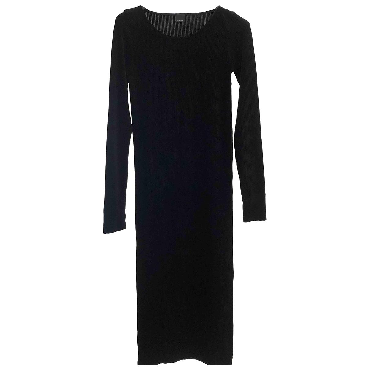 Pinko \N Kleid in  Schwarz Samt