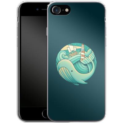 Apple iPhone 7 Silikon Handyhuelle - Into The Ocean von Enkel Dika