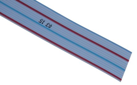 TE Connectivity 16 Way Unscreened Flat Ribbon Cable, 20.32 mm Width, 30m