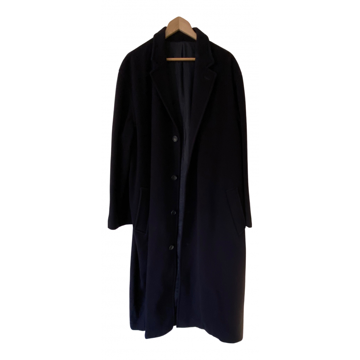 Nicole Farhi - Manteau   pour homme en laine - bleu