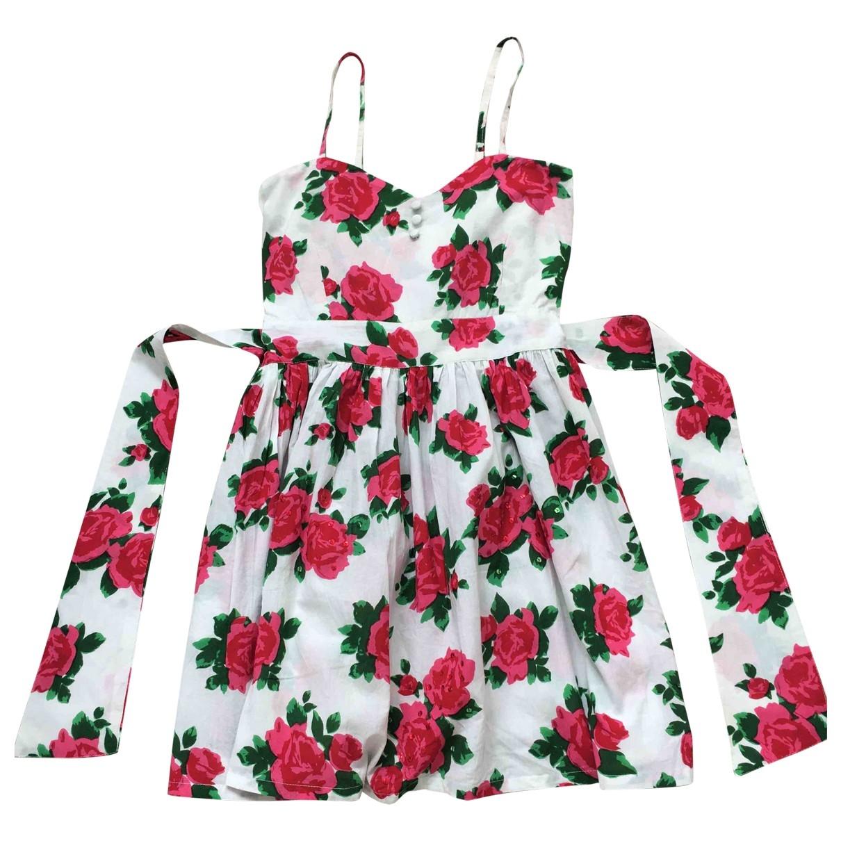 Non Signe / Unsigned \N Kleid in  Bunt Baumwolle