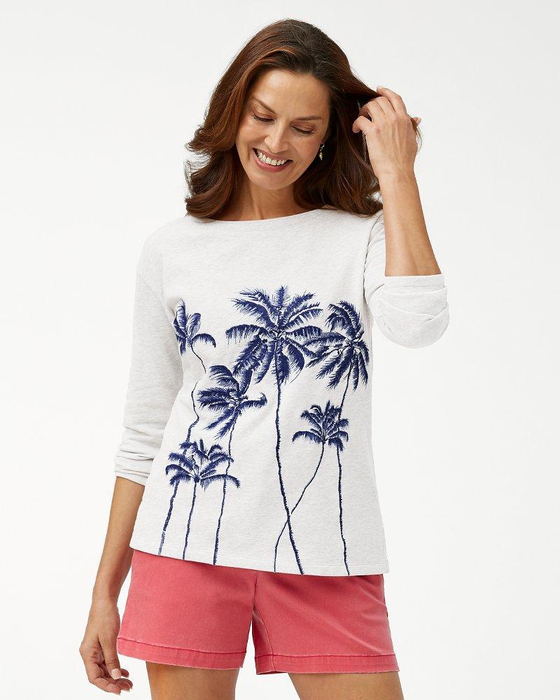Palm Viale Embroidered Sweatshirt