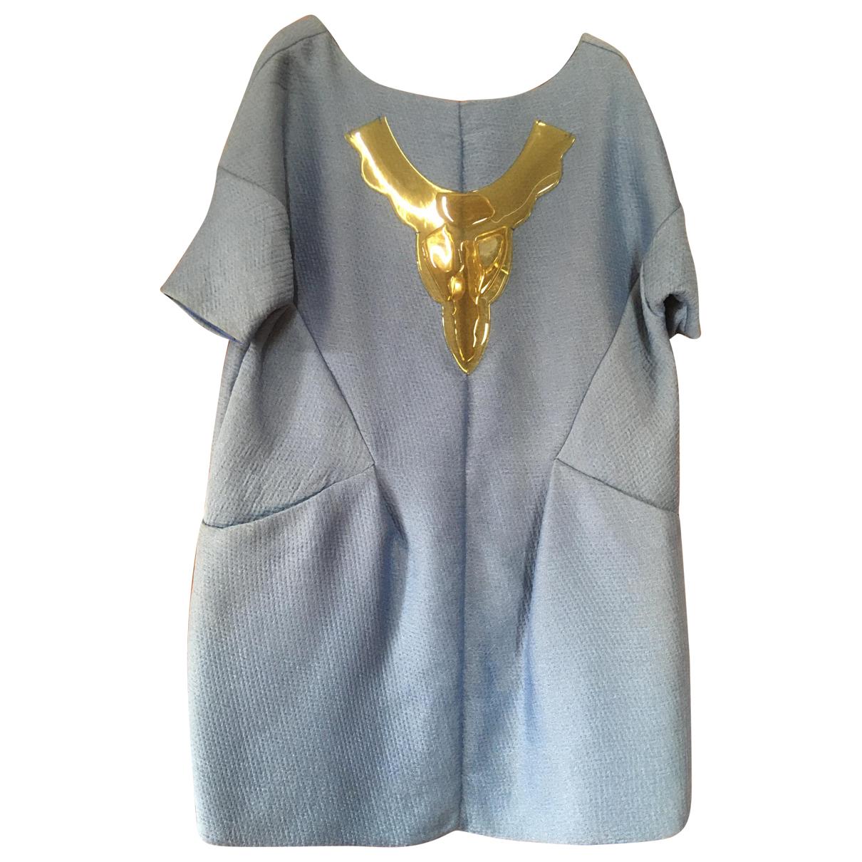 Marni \N Kleid in  Blau Seide