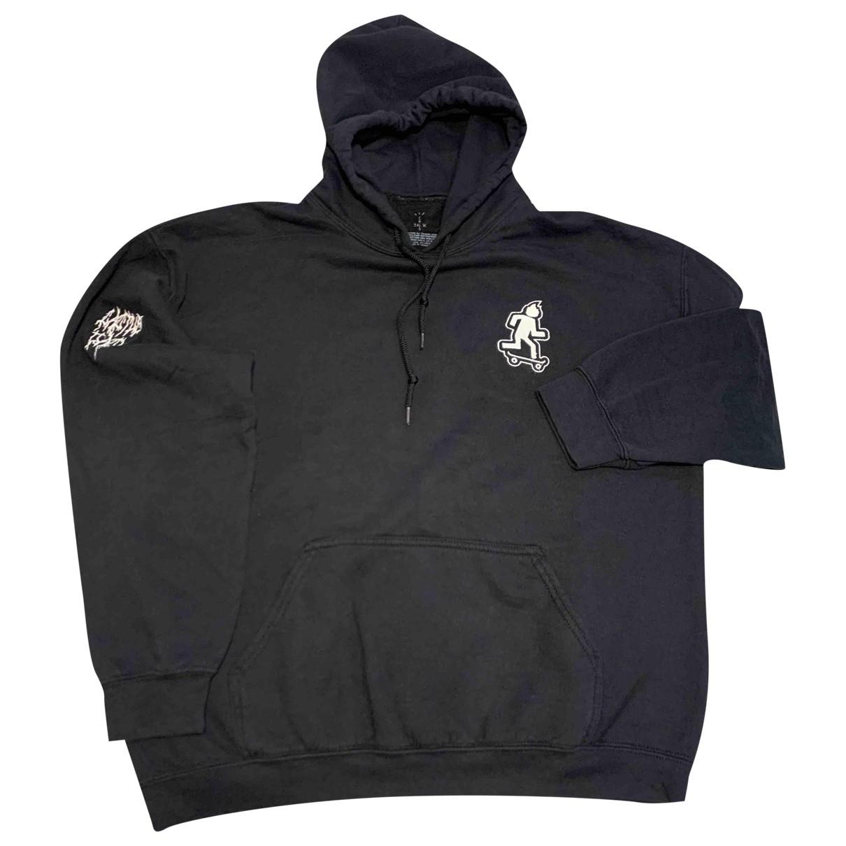 Travis Scott \N Pullover.Westen.Sweatshirts  in  Schwarz Baumwolle